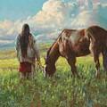 Western Skies by Jim Clements