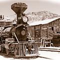 Western Train by Richard Allen