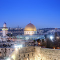 Western Wall And Dome Of The Rock by Noam Armonn