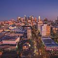 Westlake Los Angeles Aerial by Konstantin Sutyagin