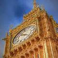 Westminster Clock Tower by Ronald Bolokofsky
