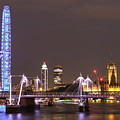 Westminster From Waterloo Bridge London by Andrew Ford