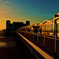 Weston Pier At Sunset by Rob Hawkins