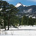 Wet Mountain Valley In Winter by John Bartelt