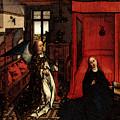 Weyden Annunciation Triptych by PixBreak Art