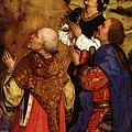 Weyden Bladelin Triptych  Right Wing  by PixBreak Art