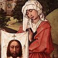 Weyden Crucifixion Triptych  Right Wing  by PixBreak Art