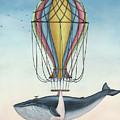 Whale And Bird by Zapista Zapista