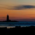 Whaleback Light by Robert Clifford