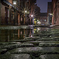 Wharf Street Cobblestones by Colin Chase