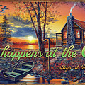 What Happens At The Cabin by Jim Hansel