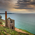 Wheal Coates Sunset by Framing Places