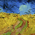 Wheat Field With Crows Van Gogh 1890 by Vincent Van Gogh