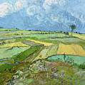 Wheat Fields After The Rain, The Plain Of Auvers by Vincent van Gogh