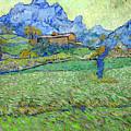 Wheat Fields In A Mountainous Landscape, By Vincent Van Gogh, 18 by Peter Barritt