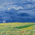 Wheatfields Under Thunderclouds by Vincent Van Gogh
