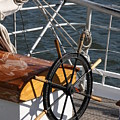 Sailingship Wheel by Christiane Schulze Art And Photography