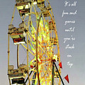 Wheel Of Fortune With Phrase by Anita Faye
