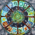 Wheel Of The Year by Christine Kfoury