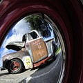 Wheel Reflections by David Lee Thompson