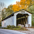 Wheeling Covered Bridge by Jack R Perry