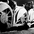 Wheels Of Steam Engine by Greg Payne