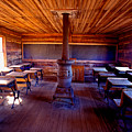 When School Was In 1-room by Paul W Faust -  Impressions of Light