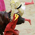 When The Bull Gores The Matador V by Rafa Rivas
