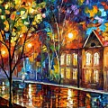 When The City Sleeps by Leonid Afremov