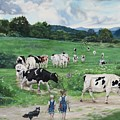 When The Cows Come Home, It's Milking Time by Heidi Parmelee-Pratt