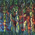 When The Trees Came Out To Play by Melody Carr