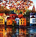 Where I Grew Up by Leonid Afremov