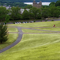 Where The Paths Cross Cornell University Ithaca New York by Thomas Woolworth