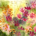 Where The Pink Flowers Grow by Suzann Sines