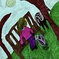While Riding My Pony I Noticed A Butterfly by Elinor Helen Rakowski
