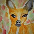 Whimsical Autumn Doe by Maria Urso