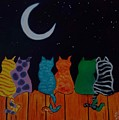 Whimsical Cats by Judy Jones