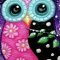 Whimsical Owl by Monica Resinger