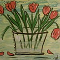 Whimsical Tulips by Patti Spires Hamilton