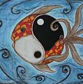 Whimsy Fish 3 Yin And Yang by Rain Ririn