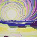 Whirling Sunrise - La Rocque by Derek Crow