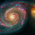 Whirlpool Galaxy M51 by Paul W Faust - Impressions of Light