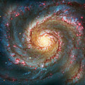 Whirlpool Galaxy  by Jennifer Rondinelli Reilly - Fine Art Photography