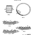 Whiskey Barrel Patent 1968 by Bill Cannon
