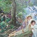 Whispering Pines by John Cappello