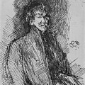 Whistler, Self-portrait.  by Granger