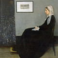 Whistlers Mother by James Abbott McNeill Whistler