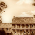 Whitall House Redbank Nj  Sepia Hdr by Thomas  MacPherson Jr