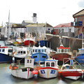 Whitby Harbour by Ian Broadmore