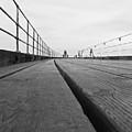 Whitby Pier by Svetlana Sewell